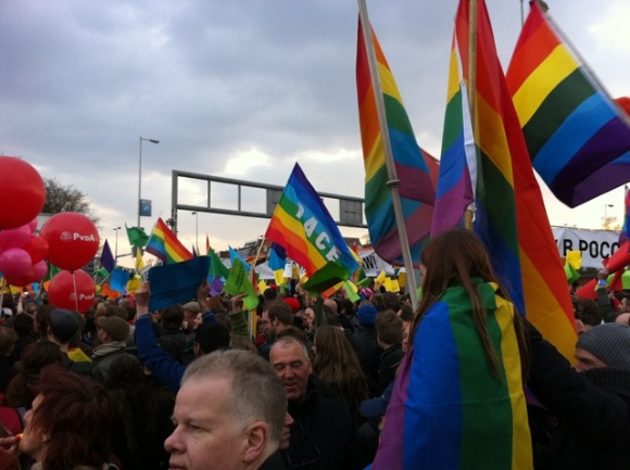 Gay Rights Russia Demo